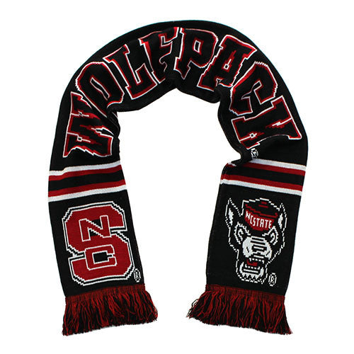 NC State Wolfpack Special Edition Black Tradition Scarf