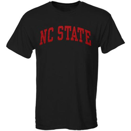 NC State Wolfpack Black Arch T-shirt