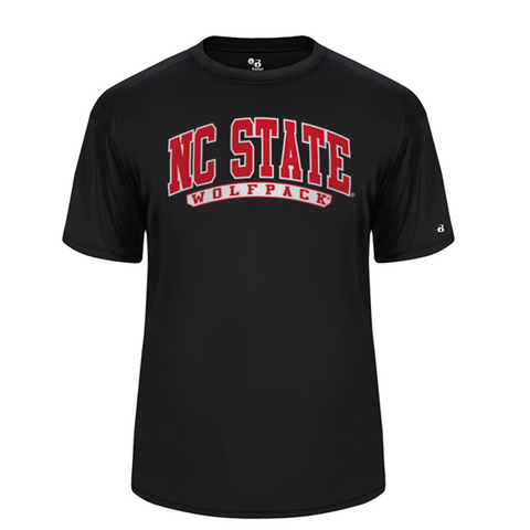 Nc state wolfpack red and black crossover basketball red for Nc state basketball shirt