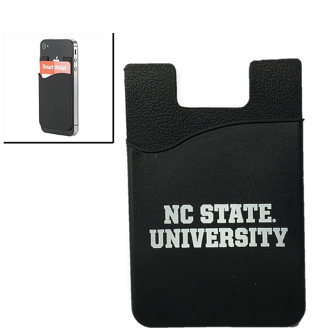 NC State Wolfpack Silicone Media Wallet