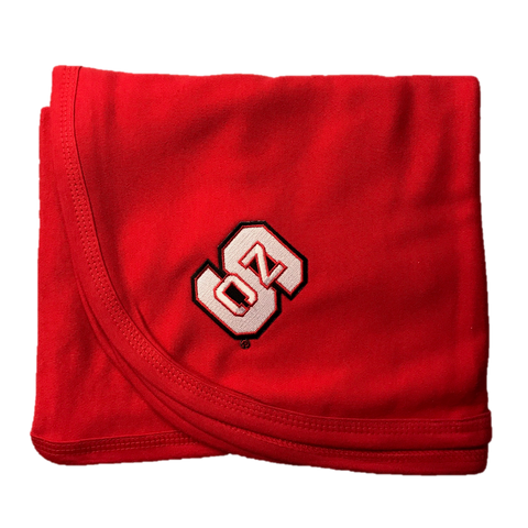 NC State Wolfpack Red Baby Blanket