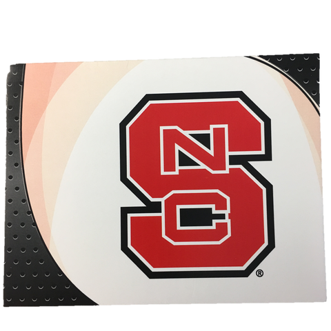 NC State Wolfpack Red Block S Note Cards