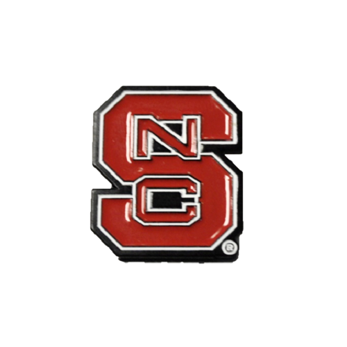 NC State Wolfpack Block S Lapel Pin