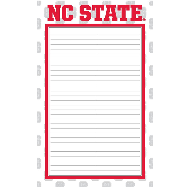 NC State Wolfpack Red Border 2 Pack Memo Pad