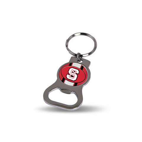NC State Wolfpack Bottle Opener Key Tag