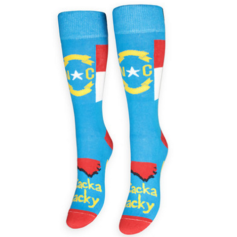 "North Carolina ""Cackalacky"" Socks"