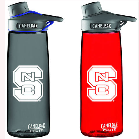NC State Wolfpack Red or Charcoal Camelbak With Chute Lid