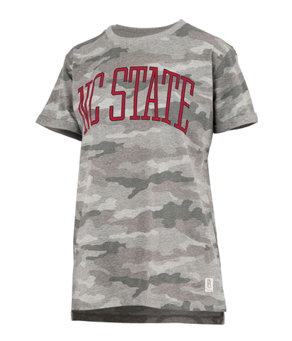 NC State Wolfpack Women's Camo Austin NC State T-Shirt