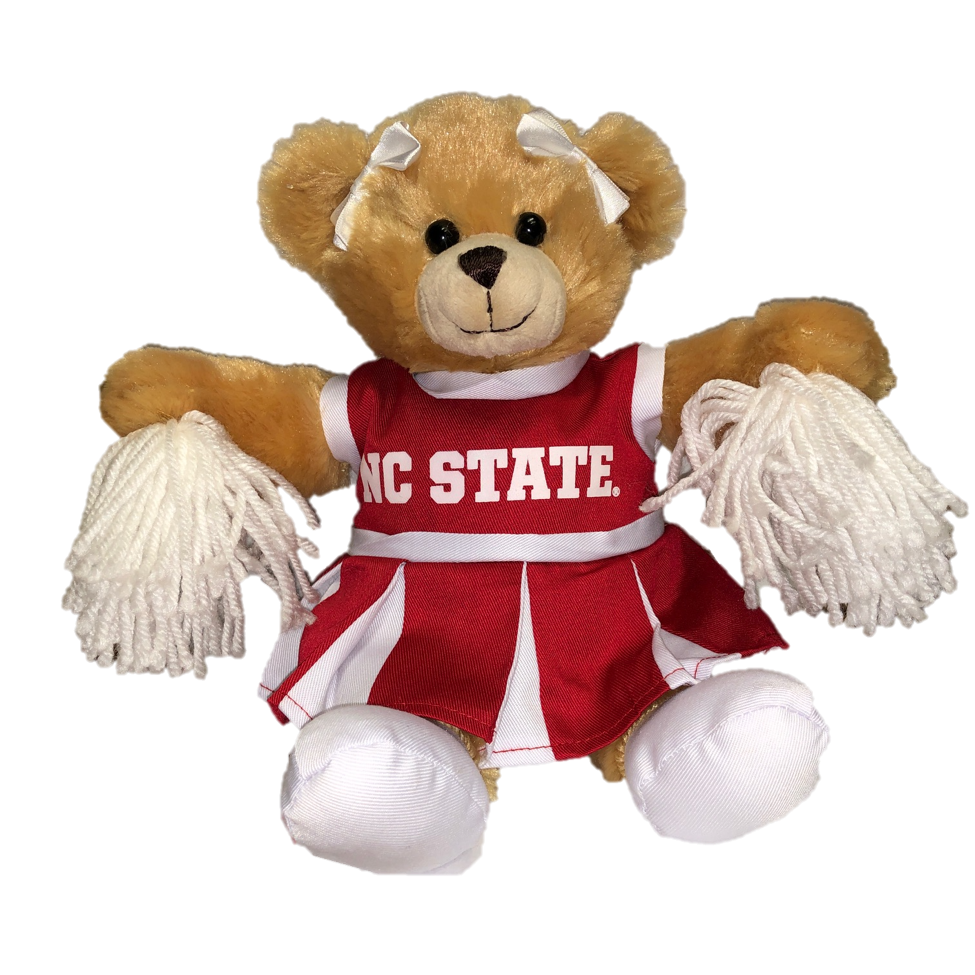 NC State Wolfpack Carly the Cheer Bear