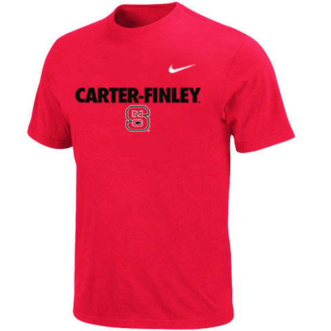 NC State Wolfpack Red Nike Carter Finley T-Shirt