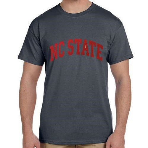 NC State Wolfpack Charcoal Arch T-shirt