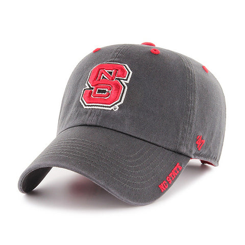 NC State Wolfpack 47 Brand Charcoal Ice Hat