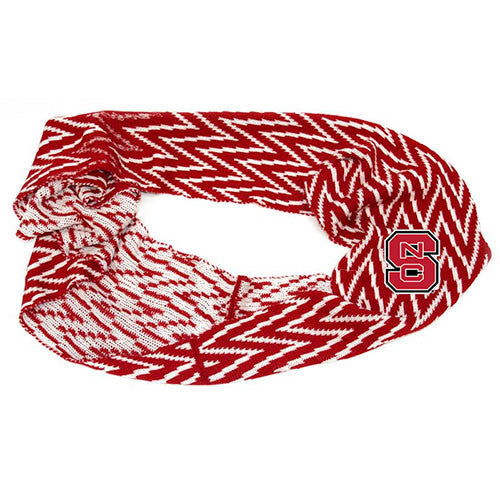 NC State Wolfpack Chevron Knit Scarf