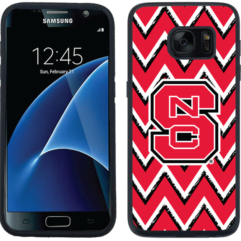 NC State Wolfpack Chevron Galaxy S7 Guardian Case