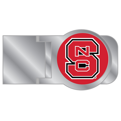 NC State Wolfpack Red Block S Classic Cut Money Clip