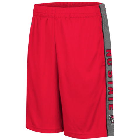 NC State Wolfpack Youth Red Wolfhead Copepod Shorts