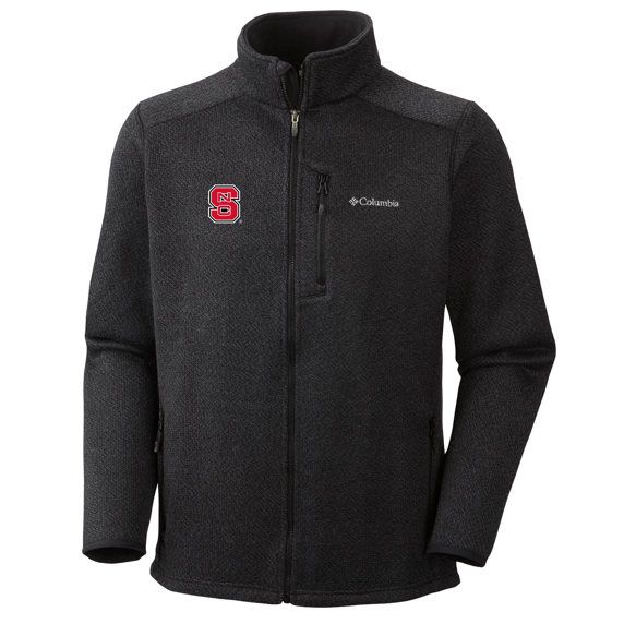 NC State Wolfpack Columbia Black Rebel Ravine Fleece Jacket