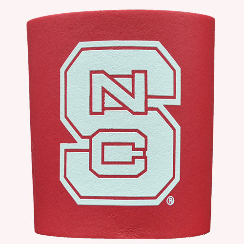 NC State Wolfpack Red Foam Can Coozie
