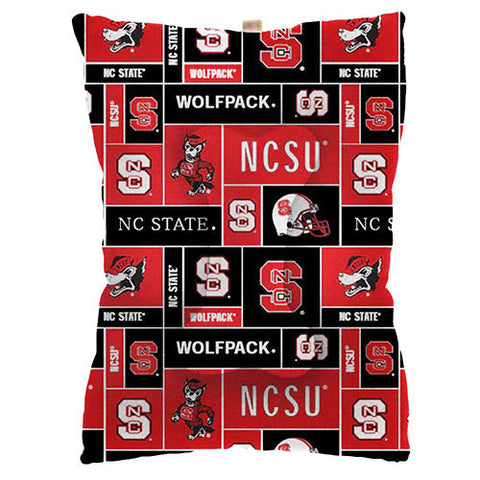 NC State Wolfpack Fleece Dog Bed