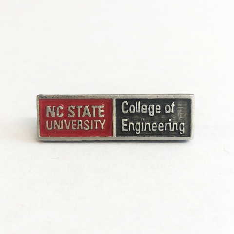 NC State Wolfpack Engineering Lapel Pin