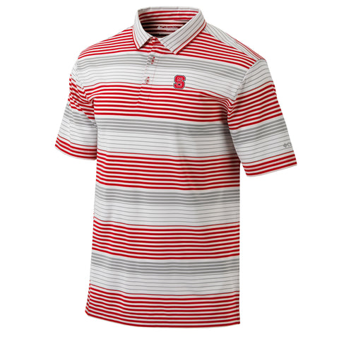NC State Wolfpack Columbia Omni-Wick Fairway Polo