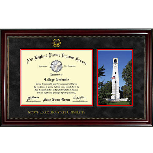 NC State Wolfpack New England Diploma Frame - 7073