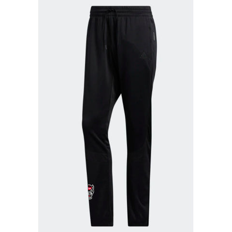 NC State Wolfpack Adidas Black Basketball Crossup 365 Warm Up Pants