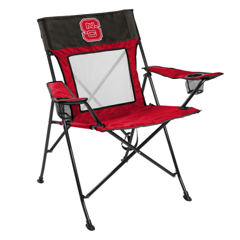 NC State Wolfpack Rawlings Red Game Changer Chair
