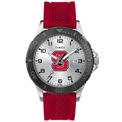 NC State Wolfpack Timex Red Gamer Watch