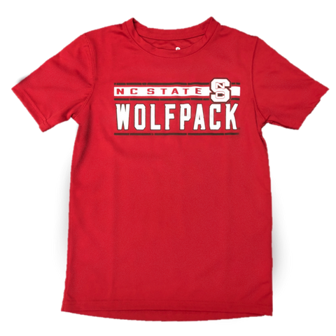 NC State Wolfpack Youth Red Generation Dri-Tech T-Shirt