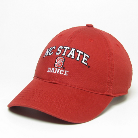 NC State Wolfpack Red Dance Relaxed Fit Adjustable Hat