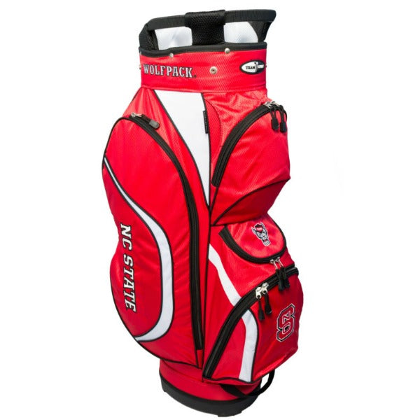 NC State Wolfpack Red Clubhouse Cart Bag