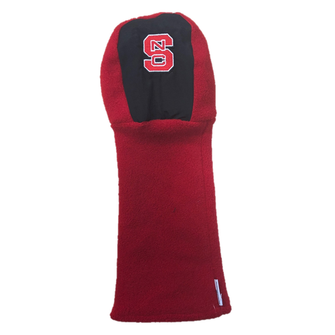 NC State Wolfpack Red and Black Golf Club Head Cover