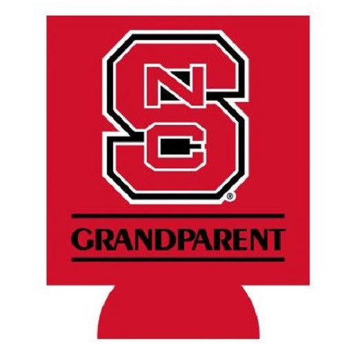 NC State Wolfpack Red Grandparent Koozie
