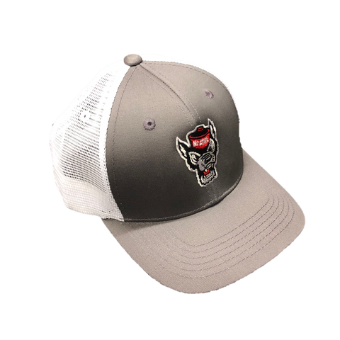 NC State Wolfpack TOW Grey Ranger Adjustable Mesh Hat
