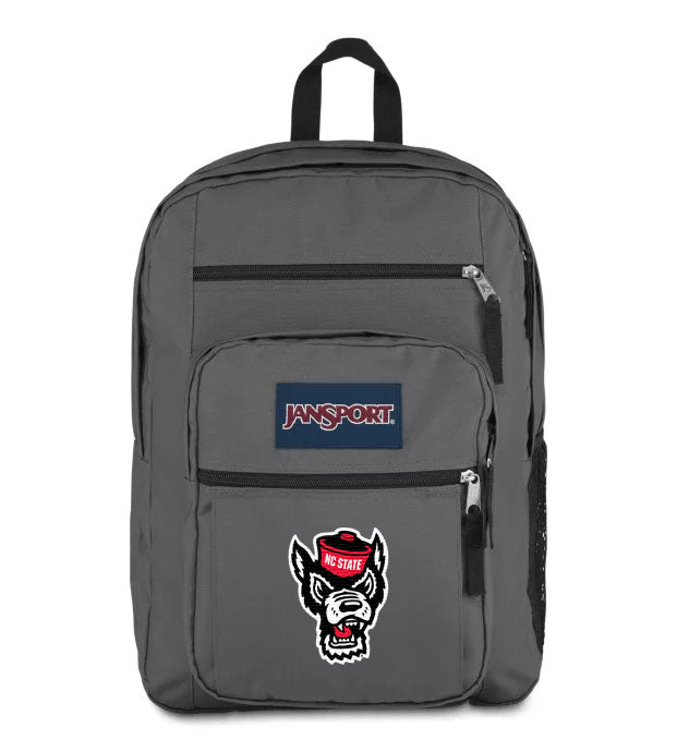 NC State Wolfpack Jansport Grey Big Student Backpack
