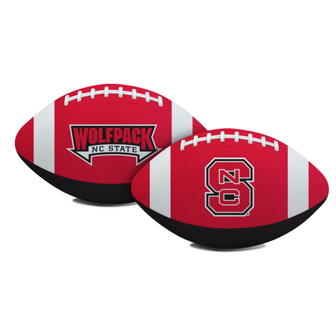 NC State Wolfpack Red and Black Hail Mary Football