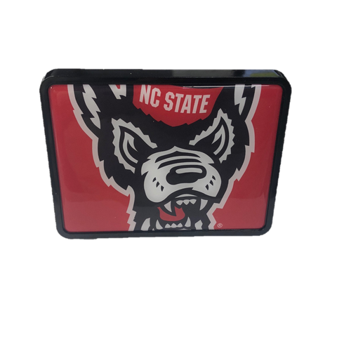 NC State Wolfpack Mega Wolfhead Universal Plastic Hitch Cover