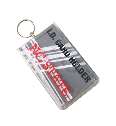 NC State Wolfpack Clear I.D. Card Holder