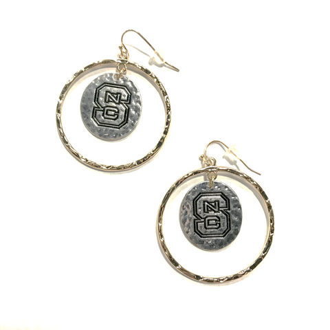 NC State Wolfpack Isabella Earrings