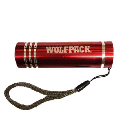 NC State Wolfpack Red Beamer Flashlight