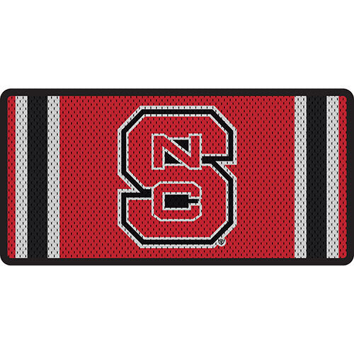 NC State Wolfpack Jersey Acrylic License Plate