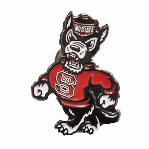 NC State Wolfpack Strutting Wolf Lapel Pin