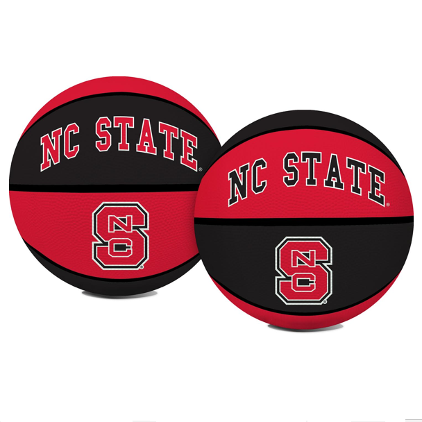 NC State Wolfpack Red and Black Crossover Basketball