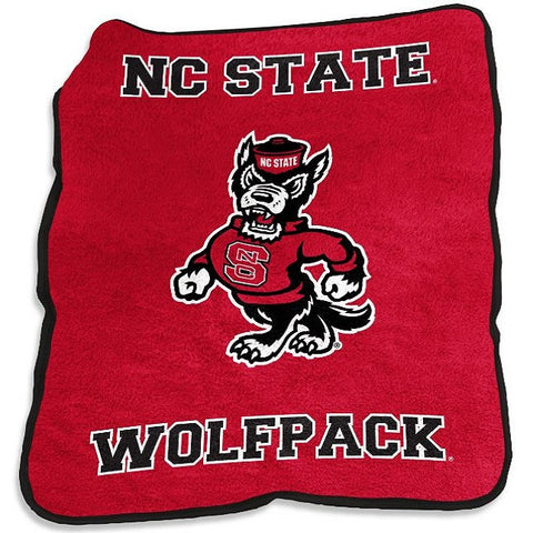 NC State Wolfpack Mascot Throw