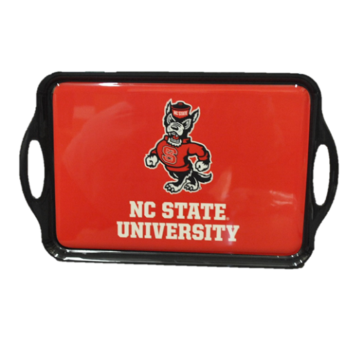 NC State Wolfpack Red Melamine Tray