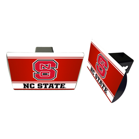 NC State Wolfpack Metal Hitch Cover