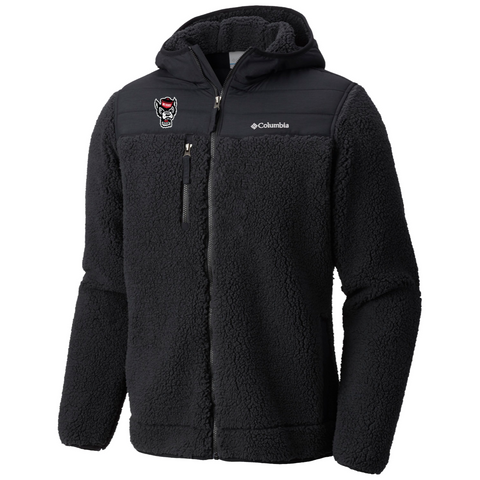 NC State Wolfpack Columbia Black Mountainside Hooded Jacket