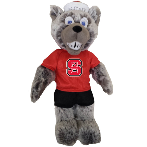 "NC State Wolfpack 11"" Mr. Wuf Plush Doll"