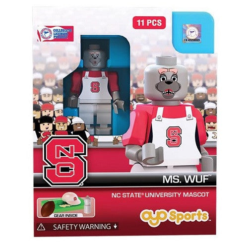 NC State Wolfpack Ms. Wuf Oyo